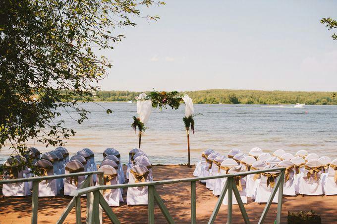Свадьба на озере «Белё»
